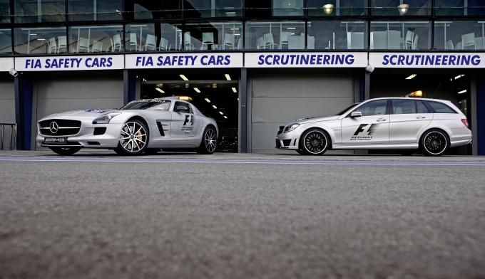 Mercedes-Benz; SLS AMG Safety Car; 2013